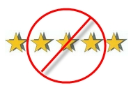 No more review stars